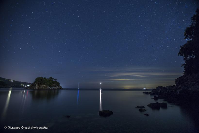 Stellata all'Isola Paolina (Elba). Foto Grossi