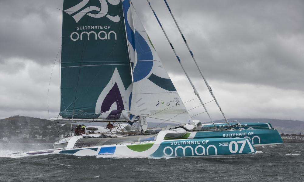 2015 MOD70 Round Ireland record