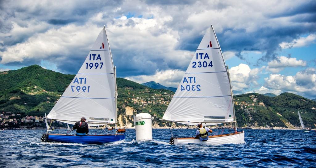 D'Albertas precede Viacava in una prova a Portofino. Foto Rastrelli/SIAD