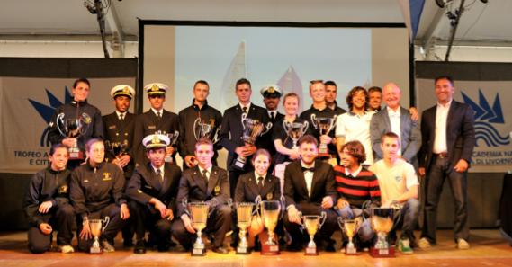 I vincitori alla premiazione