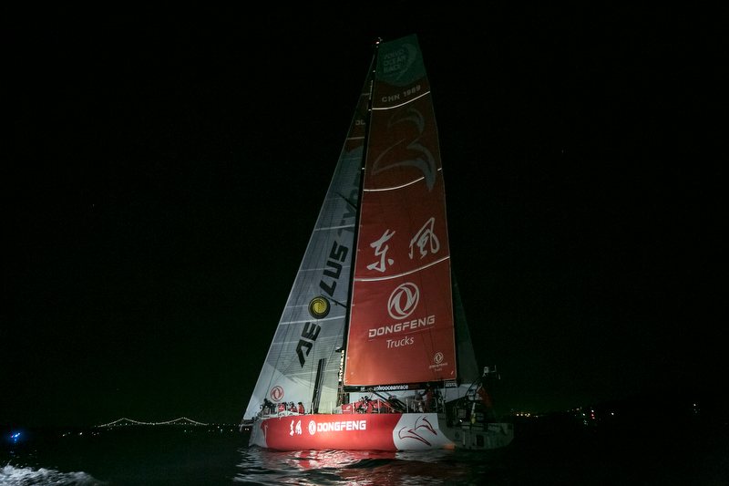 Dongfeng all'arrivo a Newport