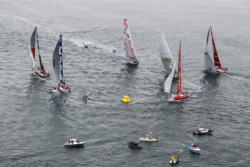 Una fase della Inport Race. Foto Sanchez