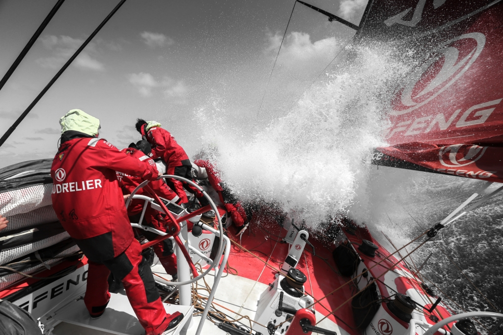 Dongfeng in Nord Atlantico. Foto Riou