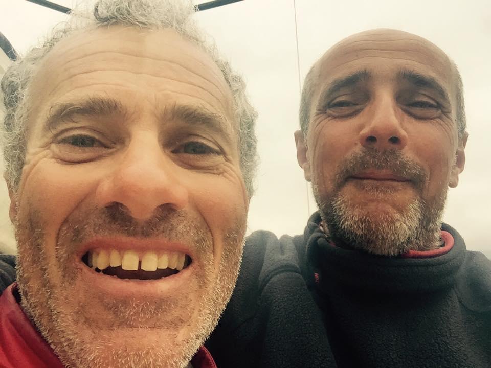D'Alì e Brenco nel selfie della vittoria