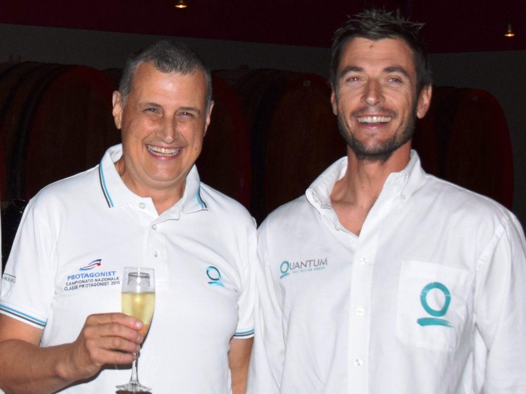 Da sinistra: Manlio Pozzoli e Carlo Fracassoli